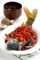 豉汁菇片剁椒鱼的做法