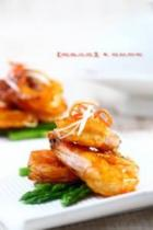 桂花蜜汁脆皮虾的做法