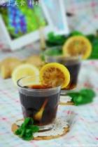 微波炉版姜汁柠檬煲可乐的做法