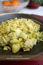 桂花土豆的做法