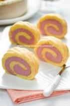 紫薯蛋糕卷的做法