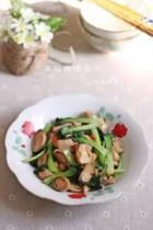 草菇炒塌菜的做法