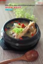 火腿炖鸡汤的做法