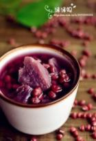 红豆紫薯甜汤的做法