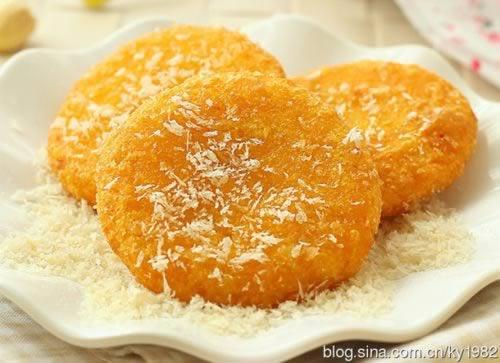 南瓜饼 宝宝美食南瓜饼的做法,怎么做,如何做好吃,图解详细步骤