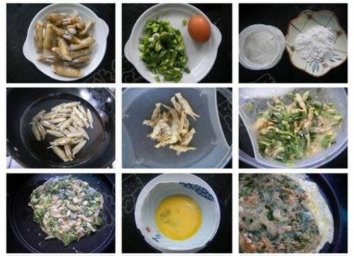 蛏抱蛋的做法,怎么做,如何做好吃,图解详细步骤 www.027eat.com