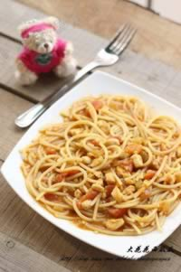 番茄咖喱意大利面的做法,怎么做,如何做好吃,图解详细步骤