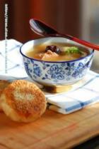 黄芪大枣羊肉汤配麻酱烧饼的做法