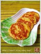 洋葱番茄豆渣饼的做法