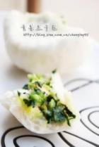 青菜豆干包的做法