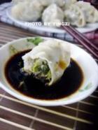 荠菜鲜肉柳叶饺的做法