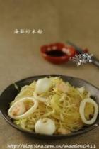 海鲜炒米粉的做法