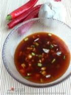 红油饺子和红油菠菜面的做法
