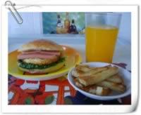 家庭自制麦当劳快餐(汉堡,薯条,果汁)的做法,怎么做,如何做好吃,图解详细步骤