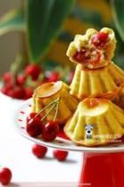 樱桃小蛋糕的做法