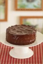 樱桃巧克力蛋糕的做法