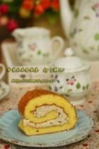 香蕉芝麻蛋糕卷的做法