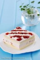 樱桃奶油冻芝士蛋糕的做法