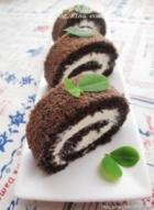 黑米米粉蛋糕卷的做法