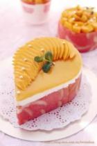 鲜奶油芒果果冻蛋糕的做法