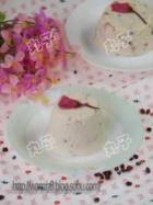 樱花红豆乳酪蛋糕的做法