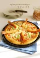 富贵大虾披萨的做法