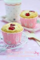 樱桃酸奶小蛋糕的做法