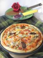 韩式辣酱牛肉泡菜比萨pizza的做法