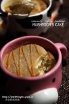 焦糖咖啡布丁佐胚芽蛋糕的做法