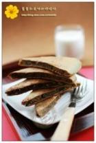 红豆抹茶煎饼的做法