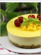 芒果冻奶酪慕斯蛋糕的做法