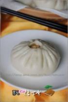 金钩青菜香菇包的做法