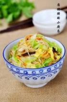 台湾炒米粉的做法