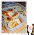 水煎荠菜饺的做法