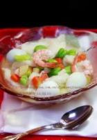 蚕豆酸菜面疙瘩汤的做法