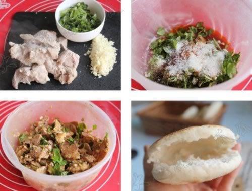 凉拌肉锅盔 凉拌肉锅盔的做法,怎么做,如何做好吃,图解详细步骤