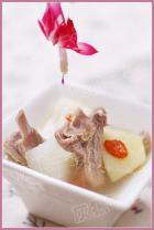 萝卜炖羊排的做法