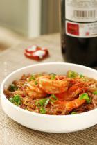 粉丝烧大虾的做法