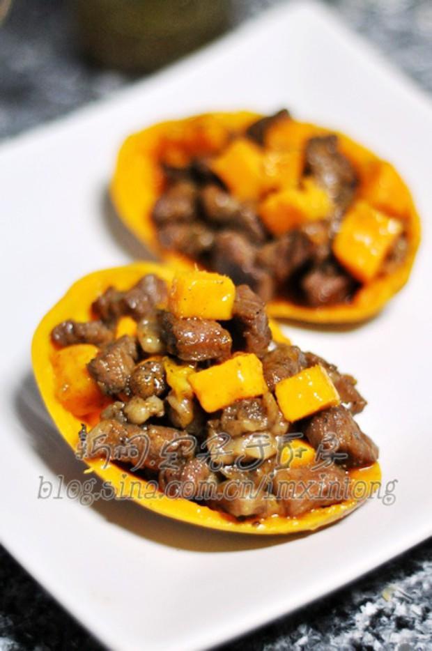 宴客菜芒果牛肉粒的做法,怎么做,芒果牛肉粒如何做好吃详细步骤图解