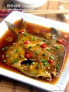家常红烧鲳鱼的做法
