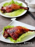 蜜汁酱烤鸭腿的做法