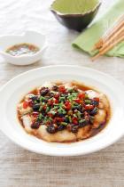 豆豉辣酱蒸鱼片的做法