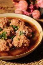 肉丸蒸冬瓜的做法