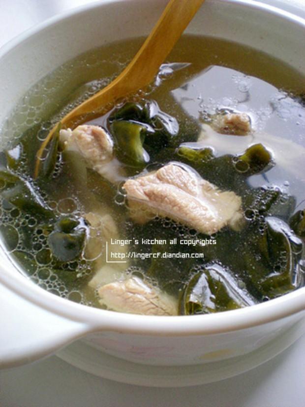 下火菜海带排骨汤的做法及营养价值,怎么做,海带排骨汤如何做好吃详细步骤图解