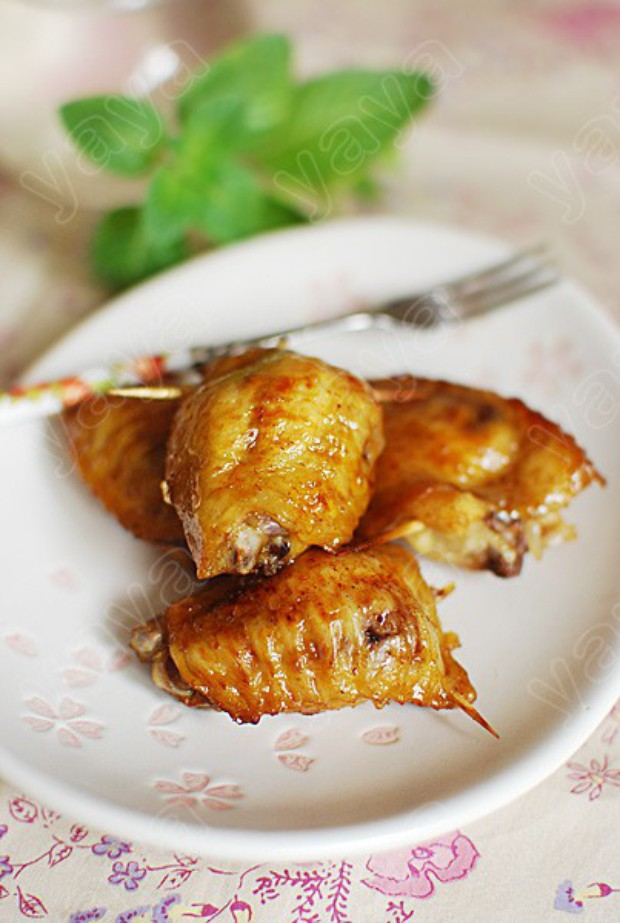 翅膀 糯米鸡/糯米鸡翅膀的材料: