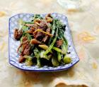 豆豉鲮鱼炒油麦菜的做法及营养价值,怎么做,豆豉鲮鱼炒油麦菜如何做好吃详细步骤图解