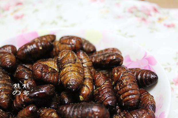 特色宴客菜干煸蚕蛹的做法,怎么做,干煸蚕蛹如何做好吃详细步骤图解