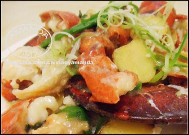 葱姜炒龙虾的做法,怎么做,葱姜炒龙虾如何做好吃详细步骤图解