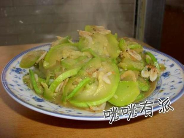 虾米皮炒角瓜的做法,怎么做,虾米皮炒角瓜如何做好吃详细步骤图解