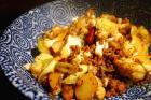 肉末香锅花菜的做法